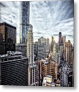 Downtown Chicago Cityscape 1  Metal Print