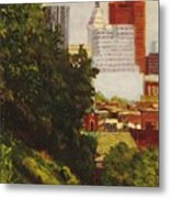 Downtown Cincinnati Metal Print