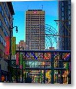 Downtown Color Metal Print