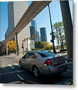 Downtown Detroit Metal Print