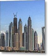 Downtown Dubai Metal Print
