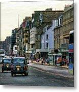 Downtown Edinburgh  Metal Print