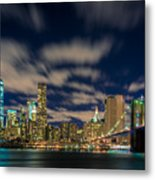 Downtown From Brooklyn Metal Print