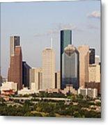Downtown Houston Skyline Metal Print