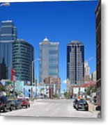 Downtown Kansas City Metal Print