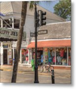 Downtown Key West Metal Print