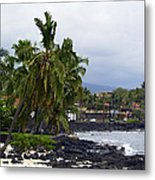 Downtown Kona Metal Print
