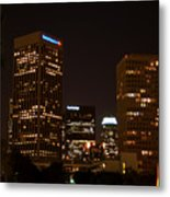 Downtown L.a. In Hdr Metal Print
