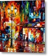 Downtown Lights Metal Print
