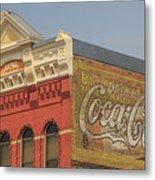 Downtown Livingston Montana Metal Print