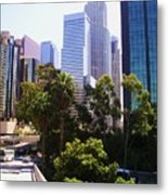 Downtown Los Angeles. 6th Street Metal Print