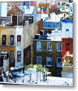 Downtown Nyc Rooftops Metal Print
