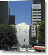 Downtown Of Los Angeles Metal Print