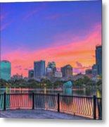 Downtown Orlando Florida  Metal Print