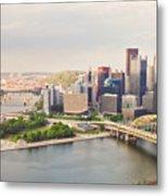 Downtown Pittsburgh Pennsylvania Metal Print
