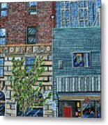 Downtown Raleigh - West Martin Street Metal Print