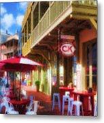 Downtown Rosemary Beach Florida # 2 Metal Print