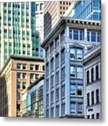 Downtown San Francisco Metal Print by Julie Gebhardt