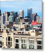 Downtown San Francisco Metal Print