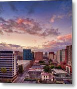 Downtown San Jose From City Heights Metal Print