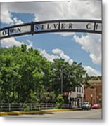 Downtown Silver City Metal Print