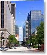 Downtown Tampa Fl, Usa Metal Print