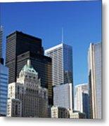 Downtown Toronto Metal Print