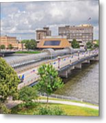 Downtown Waterloo Iowa  Metal Print
