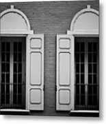 Downtown Windows Roanoke Virginia Metal Print