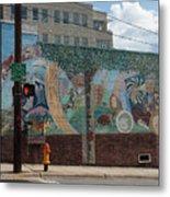 Downtown Winston Salem Series V Metal Print