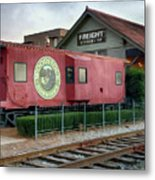 Downtown Woodstock Metal Print