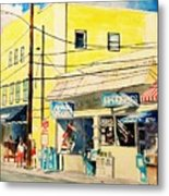 Downtown Wrightsville Beach Metal Print