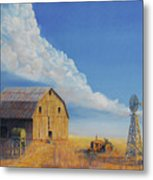 Downtown Wyoming Metal Print