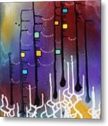 Dowstream With The Goddess Metal Print