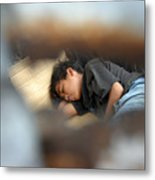 Dozing For As Long As I Can Metal Print