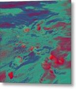 Dp Stone Impressions 7 Metal Print