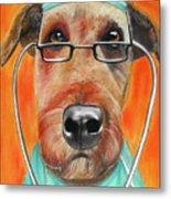 Dr. Dog Metal Print