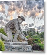 Dr. Kenneth Fox Sculpture Oldtown Auburn Metal Print