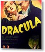 Dracula, Top From Left Helen Chandler Metal Print by Everett