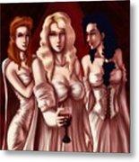 Dracula's Brides Metal Print