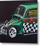 Drag Racing Vw Metal Print