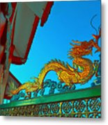 Dragon At The Gate Metal Print