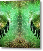 Dragon Eyes At Dawn Metal Print