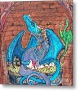 Dragon Family Metal Print