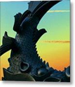 Dragon Fish Metal Print