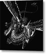 Dragon Knight Metal Print