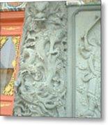 Dragon Pillar Metal Print by Melissa Stinson-Borg