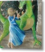 Dragon Princess 2 Metal Print