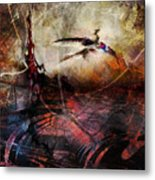 Dragon Realms Vii Metal Print