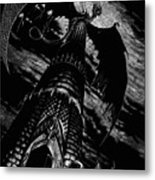 Dragon Tower Metal Print